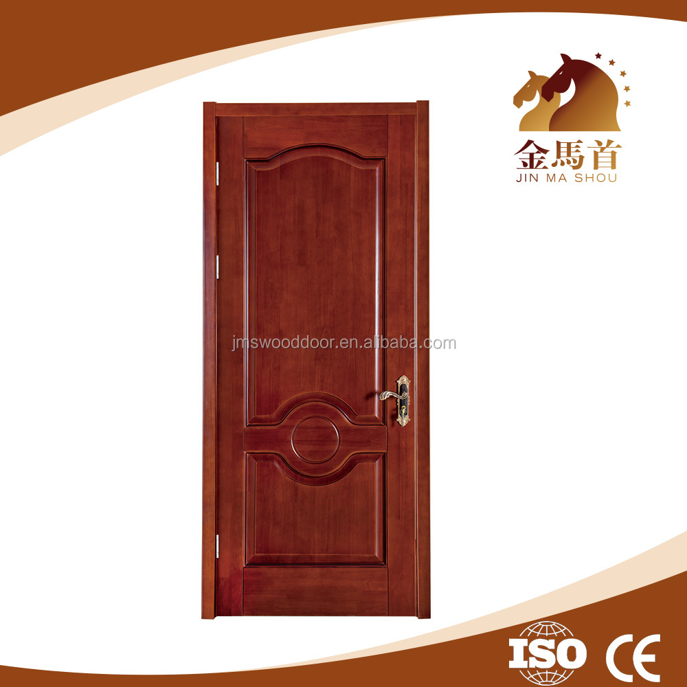 latest design doors wood panel and painting finished MDF wood carving door design
