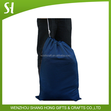 dark blue drawstring bag dust bags