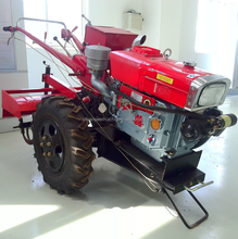 10hp diesel mini Cultivator Tiller 12hp walking tractor for sale