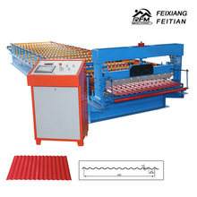 Feixiang roll forming equipments, metal roof machine make corrugated sheets steel