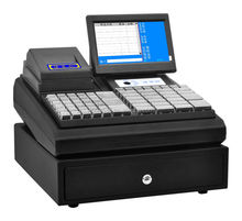 "7"" 12"" 15 "" All In One business machine/pos system/pos terminal with Thermal Printer, customer display, Cash box, Software"