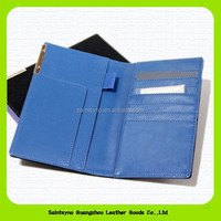 Wholesale rfid travel organizer wallet custom leather cover passport holder 15191