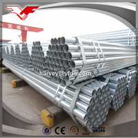 large diameter hot dipped galvanized welded steel pipe