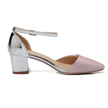New Arrival pink genuine leather women handmade ladies flat low heel sandals