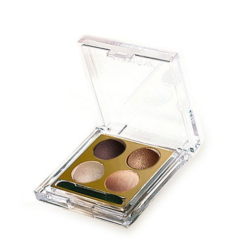 4 Color Waterproof Cream Mineral Glitter  Eye Shadow Palette