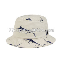 Hot Sales Custom Printed Pattern Fisherman Bucket Hat Manufacturer