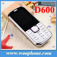 D600 China Dual Sim Card Mobile Phone + 1.8inch Screen