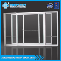 Modern design aluminum window and door, aluminum glass door and window frame for office