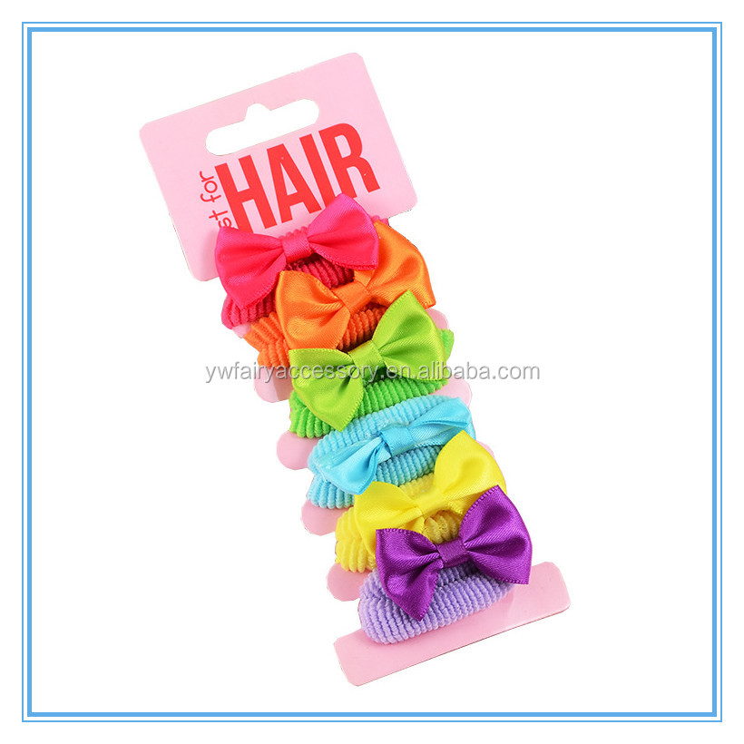 Lovely animal Baby ponytail holder boutique whoesales toddler small elastic hair band