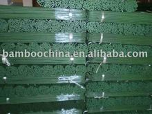 Dye green bamboo flower sticks