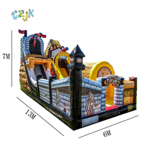 Inflatable Pirate Slide inflatable slide for sale swing game