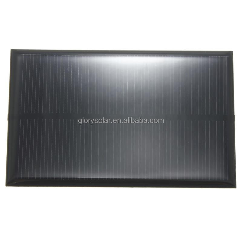 China Factory Offer Customized Mini Solar Panel 5V 1.25W 250mA 110*70*3MM Small Solar Panel Customization