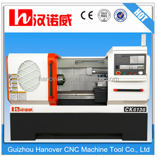 Top Quality cheaper small cnc lathe for training CK6136