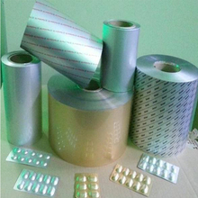 Outstanding performance pharmaceutical aluminum blister foil pack in GMP 100000 Degree workshop