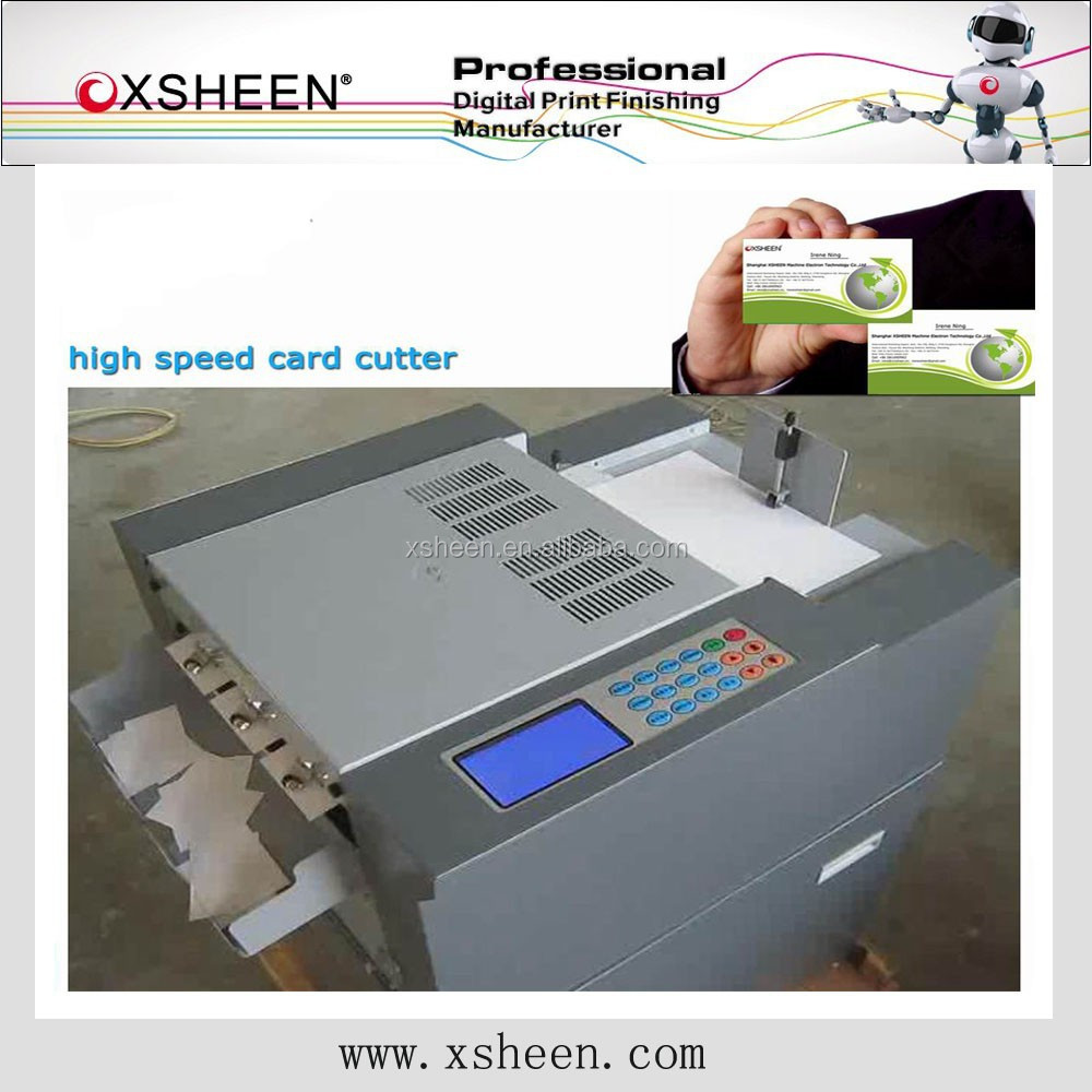 name card slitter,business card slitter,die cutter machine for paper card