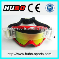 Logo custom cheap price anti slip strap off-road motorcycle goggles