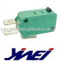 GREEN BODY COPPER OR SILVER CONTACTS BIG CURRENT MICRO SWITCH(16A125V/250V AC)