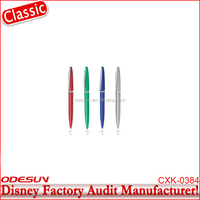 Disney Universal NBCU FAMA BSCI GSV Carrefour Factory Audit Manufacturer Cheap Promotional Pen With Flashlight