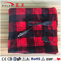 12 volts heating travel blanket