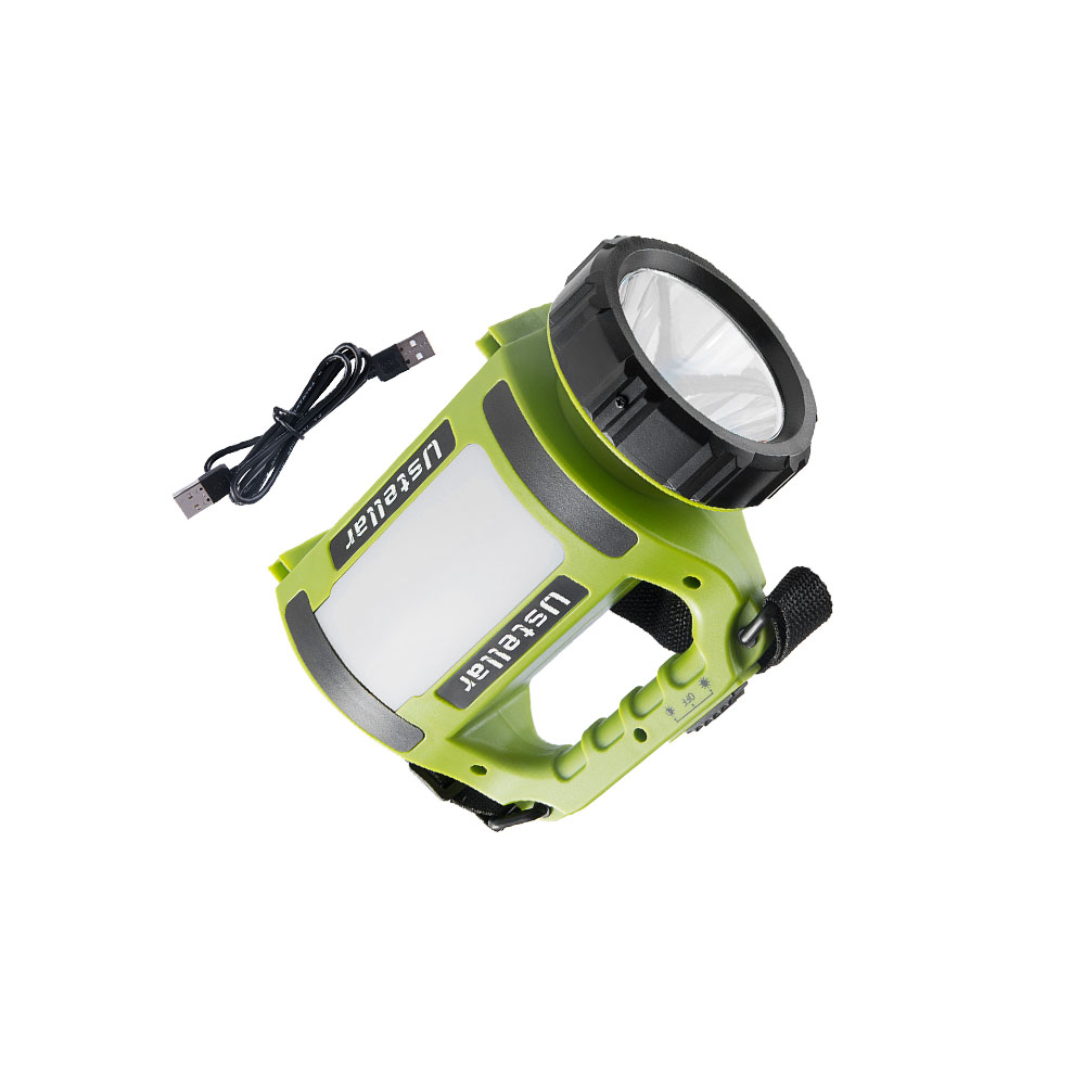 2018 5w multi functional rechargeable portable waterproof camping light 18650 battery camping lantern