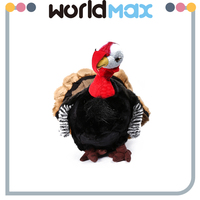 Kid Gift Turkey Shape Mini Cartoon Plush Toys