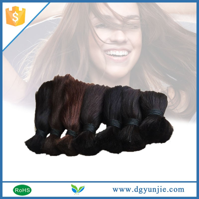 Hair products special cheap vigin human hair materials for hair extension