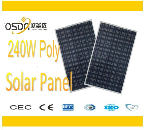 240w pv solar module china cell mono for homesystem