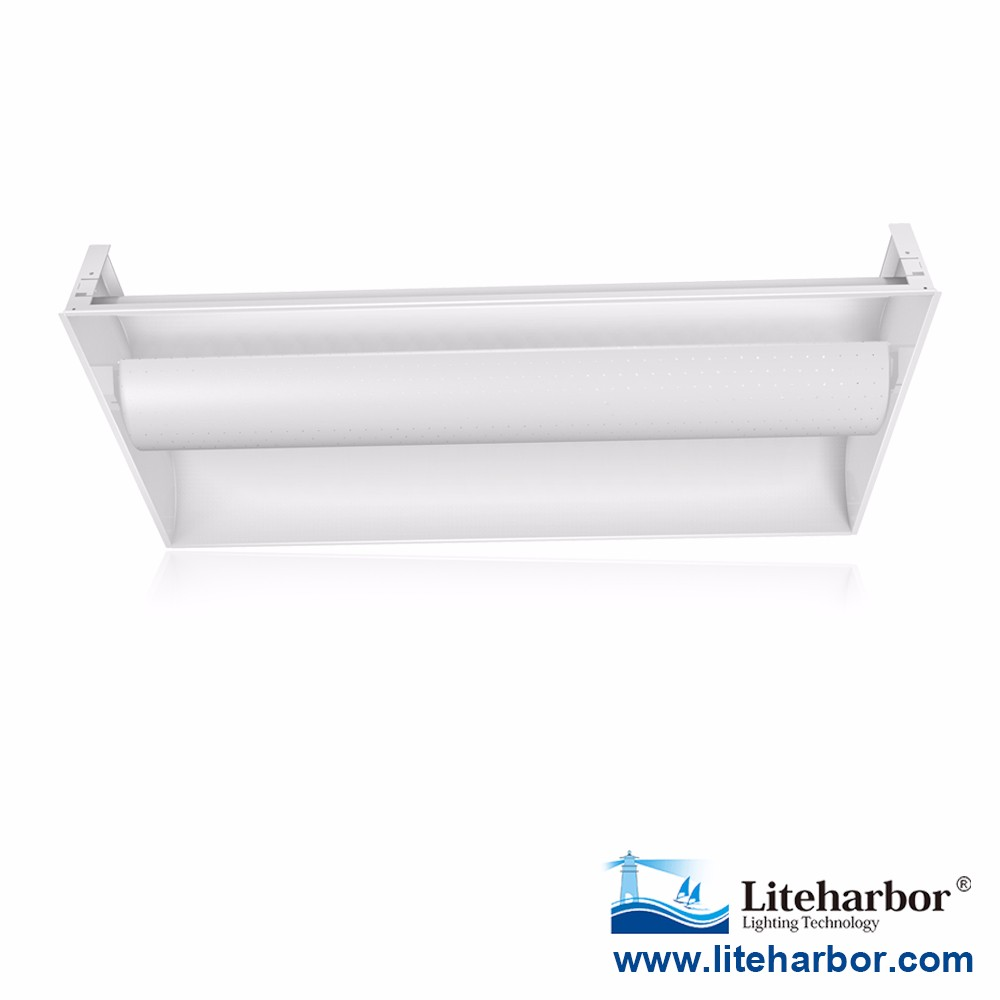 China Factory Free Sample Liteharbor Lighting UL DLC approved SMD2835 dimmable 2x4 led troffer for America market