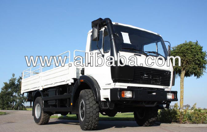 Mercedes 1017 4x4 Truck - fully customisable