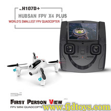 2016 Newest Product Hubsan FPV Toys 2.4G 4CH 6Axis H107D Plus Camera Mini Helicopters For Sale