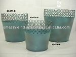 Round Base Planter Set Garden Palnter Set
