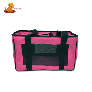 Oxford waterproof fabric Pet travel bag with roll up window Quality-Assured dog bag carrier, Waterproof Pet Carrier Bag