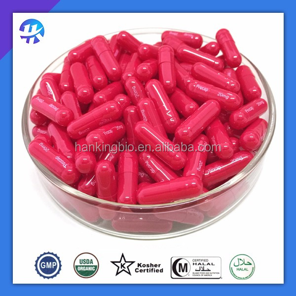 red empty capsule/ vegetarian empty cpsule/ HPMC capsule all size 00,0,1,2,3,4