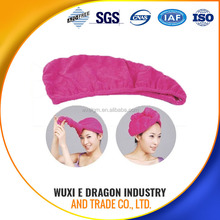 80% polyester and 20% polyamide wuxi factory disposable hair salon towel
