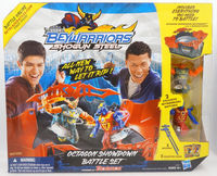 Beyblade Beywarriors Shogun Steel Octagon Showdown Battle Set Die-cast Top