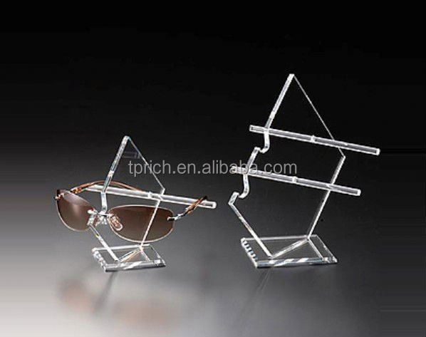 2015 new design Acrylic Eyewear Case for Display Stand