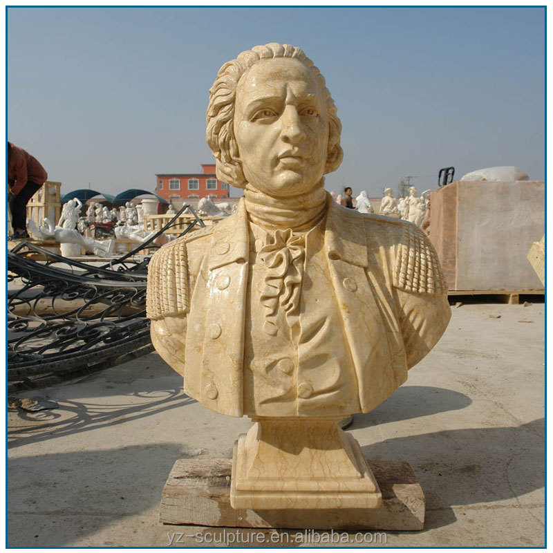 western antique marble bust statue for sale