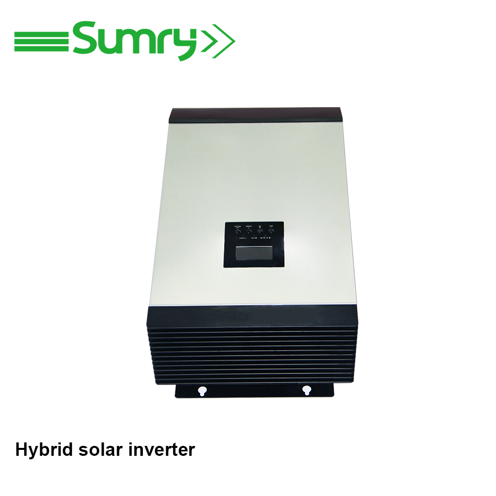 800w 1000w1600w 2400w 3200w 4000w grid and battery back up solar inverter on and off hybrid pv inverter with MPPT
