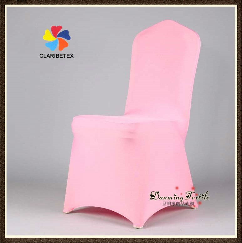 Wholesale Lycra /Spandex Wedding Chair Cover in Pink