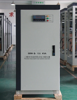 100KVA Three Phase Automatic Voltage Regulator/Voltage Stabilizer for Industrial