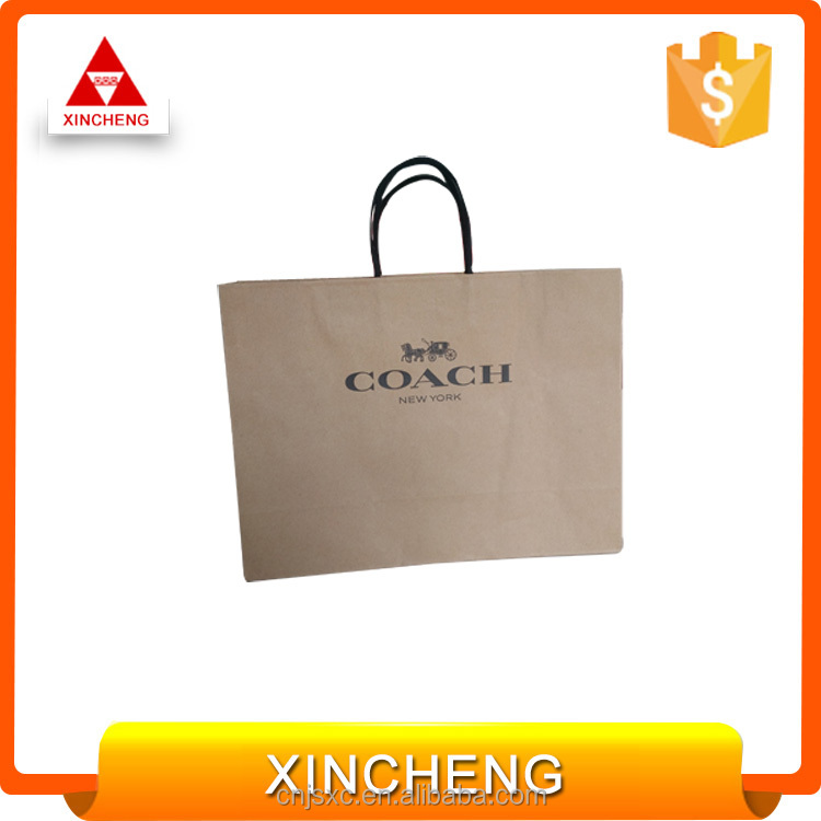 China manufacturer brown kraft paper bag for grocery making machine