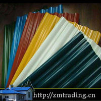 Favorites Compare Colorful New Building Material Steel Roofing (green/blue/yellow tiles)