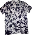 100% Pima Cotton Men T-Shirt , Slim Fit , Spots Dye Effect