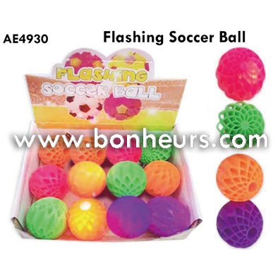 New Novelty Toy Flashing Soccer Ball
