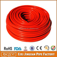 Flexible Soft RED 8x15mm Propane Gas LPG PVC Gas Hose Pipe and Gas Regulator, High Pressure LPG Hose, Cheap Plastic Hose