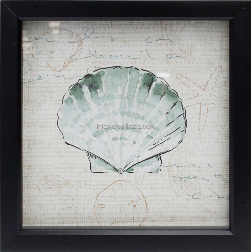 Intco PS framed shell picture printing paper