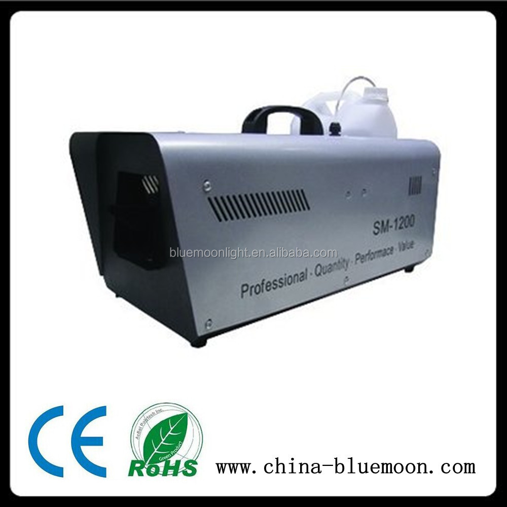 Stage Lighting Equipment 1200W Shaved Snow Machine