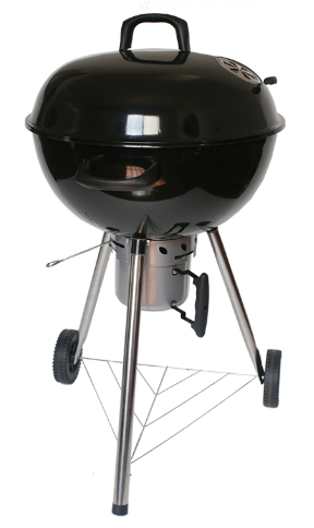 Hot Selling 22.5''inch Kettle Charcoal Grilll Apple BBQ Grill Weber Charcoal BBQ Grill with Detachable Ash Pan