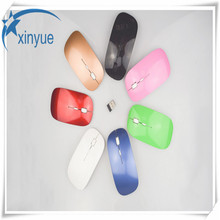 2017 New Arrival Candy Color Ultra Thin Wireless Mouse And Receiver 2.4G USB Optical Colorful Special Offer Computer Mouse