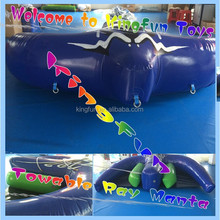 Towable Inflatable Flying Manta Ray Rider